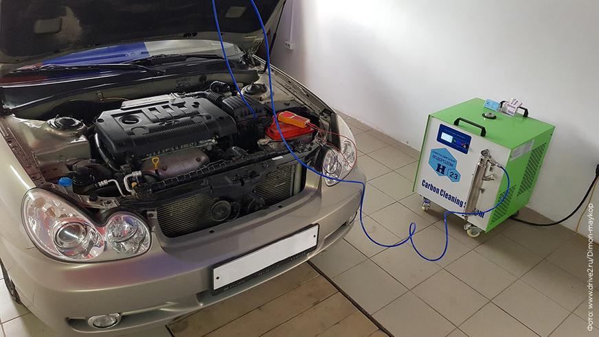 Чистка двигателя водородом: работает ли она?