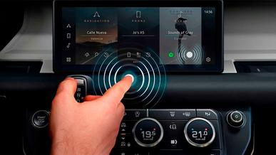 На Range Rover будут бесконтактные экраны