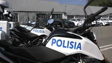Разгребать дорожные заторы в Алматы будут полицейские на мотоциклах