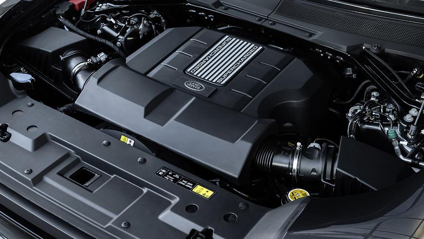 Новый Land Rover Defender получил версию с V8