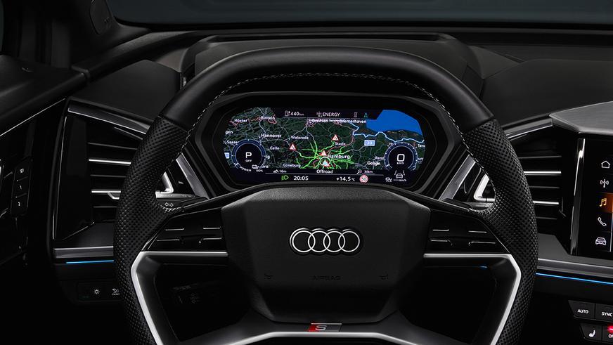Audi представил сразу два электрических кроссовера