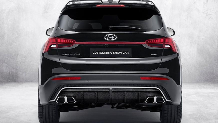 Заводской тюнинг Hyundai Santa Fe