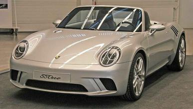 Рассекречен Porsche 55One 2008 года