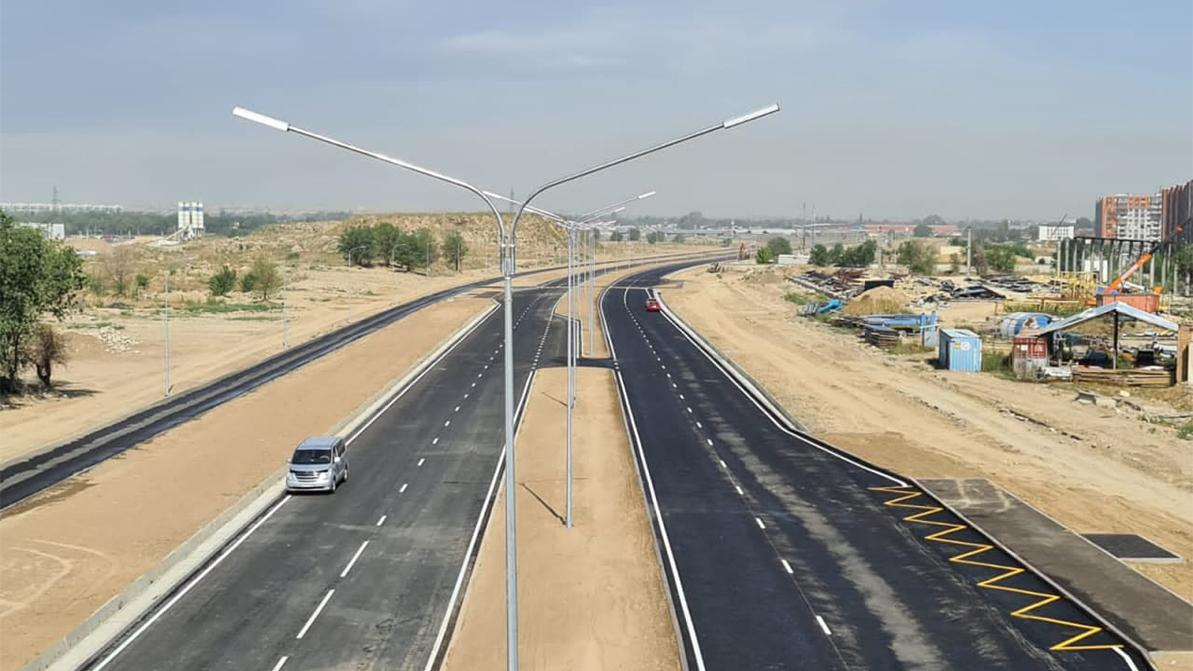 Новую дорогу открыли в Наурызбайском районе Алматы