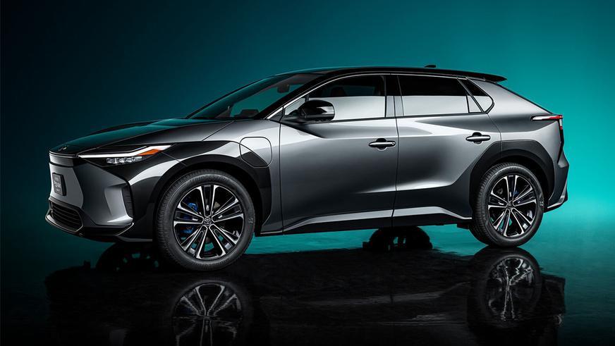 Toyota bZ4X как электрический RAV4