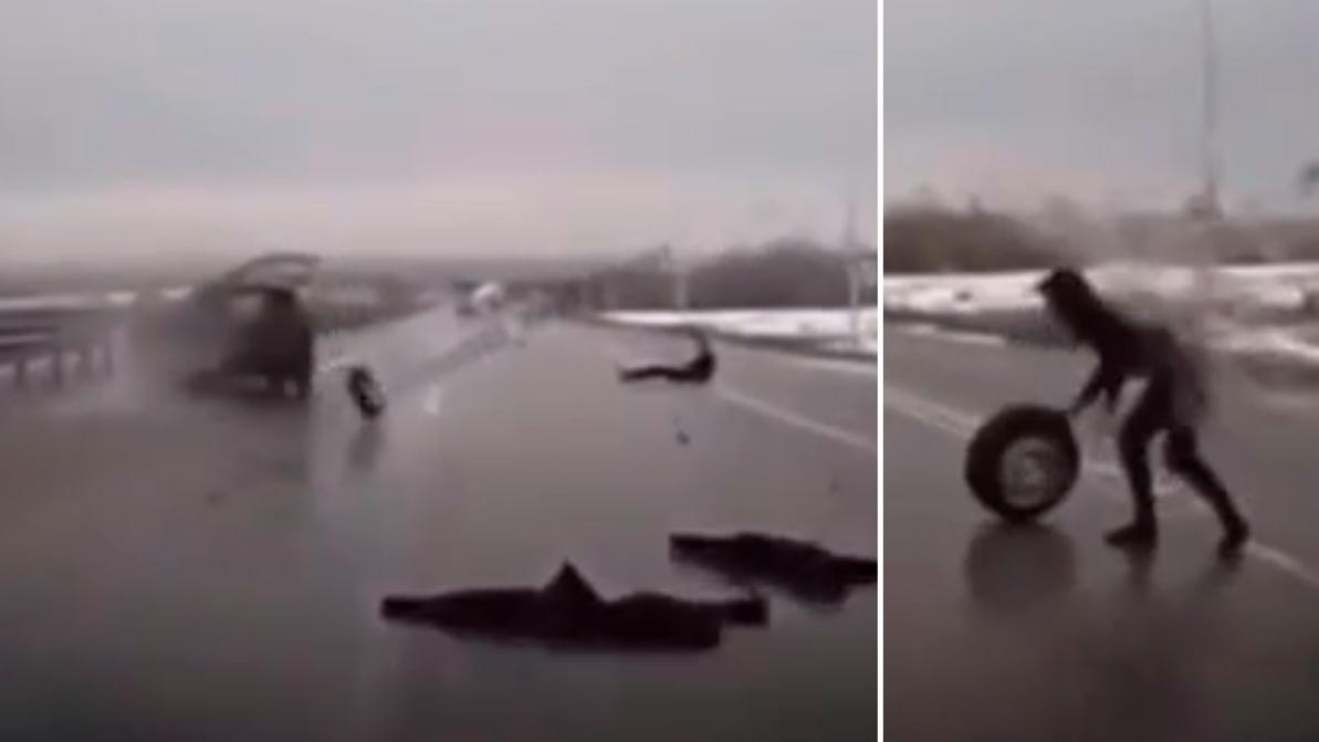 Пассажир вылетел из авто после столкновения с отбойником на трассе Караганда – Темиртау