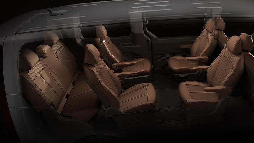 Hyundai поделилась подробностями о футуристичном Staria