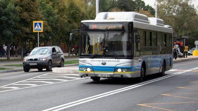 Три дня не будет ходить общественный транспорт в Алматы