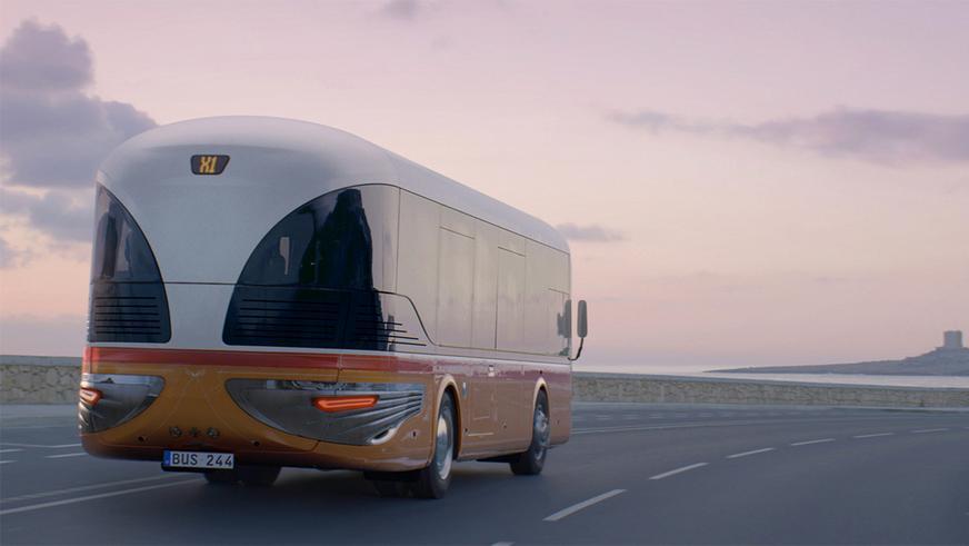 Красивые автобусы для Мальты