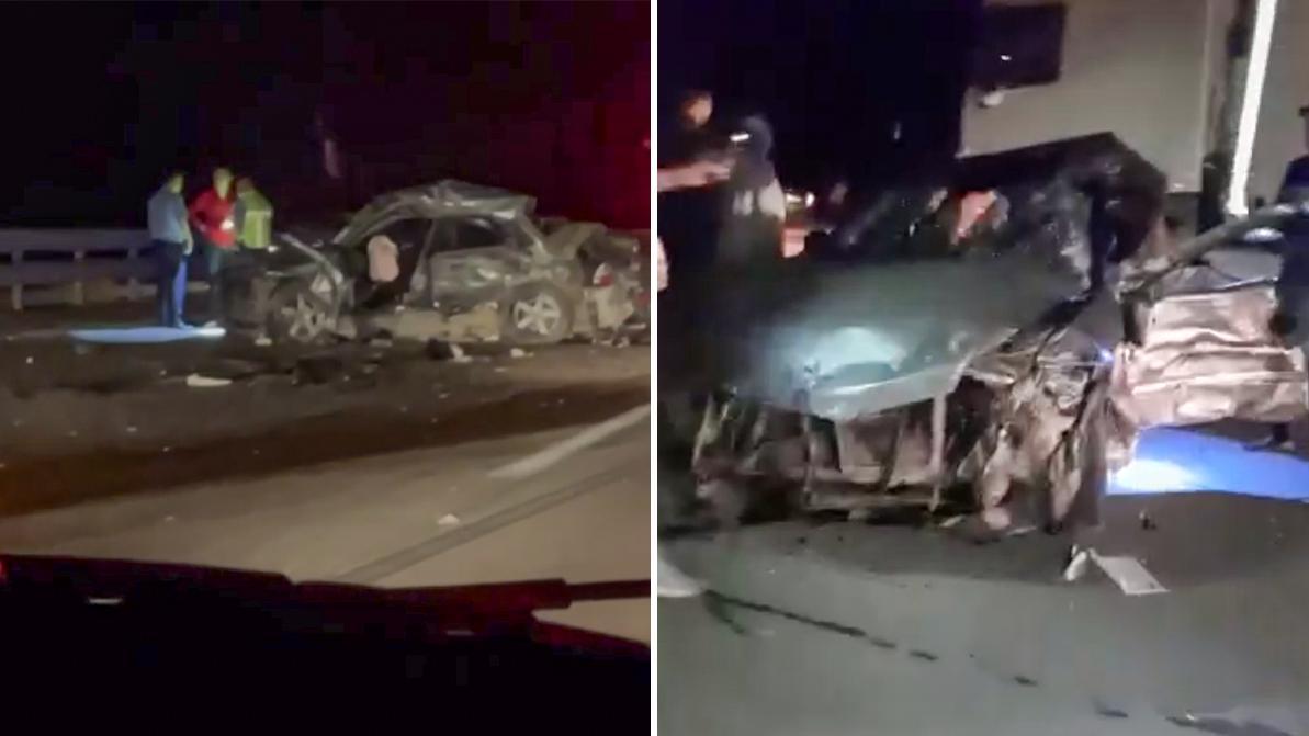 Ночное ДТП на Капчагайке – два трупа и один пострадавший