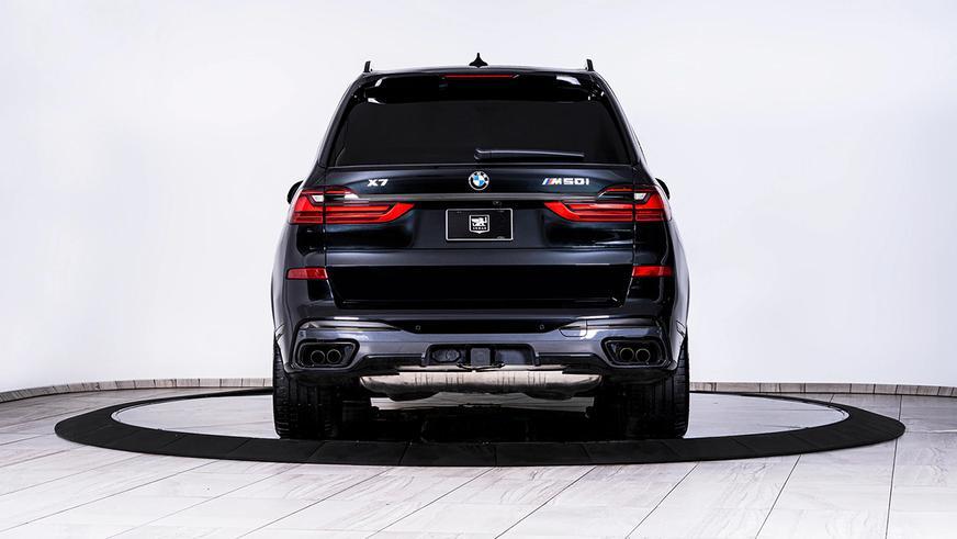 Представлен бронированный BMW X7