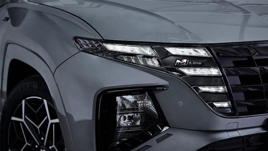Hyundai Tucson обзавёлся версией N-Line