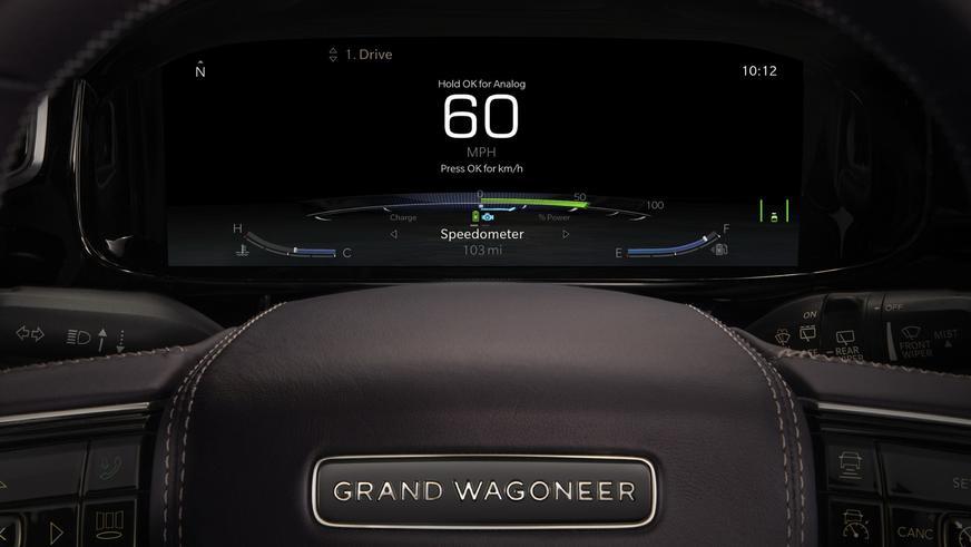 Grand Wagoneer – это вам не Jeep!