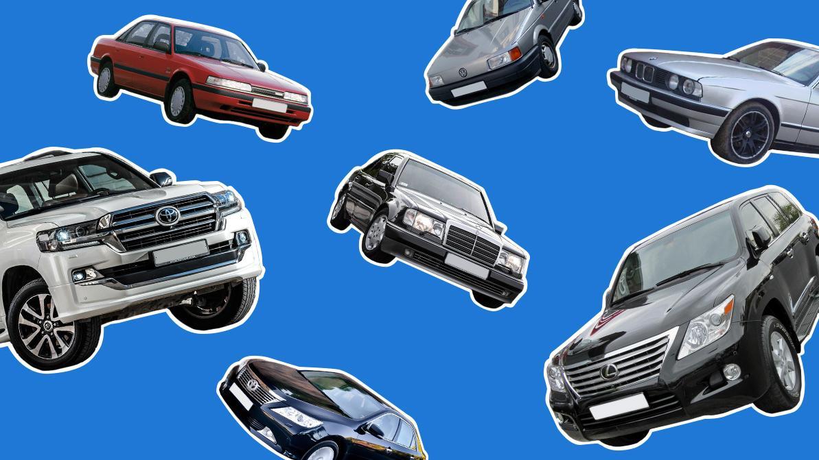 Шесть самых угоняемых марок авто назвали в Казахстане