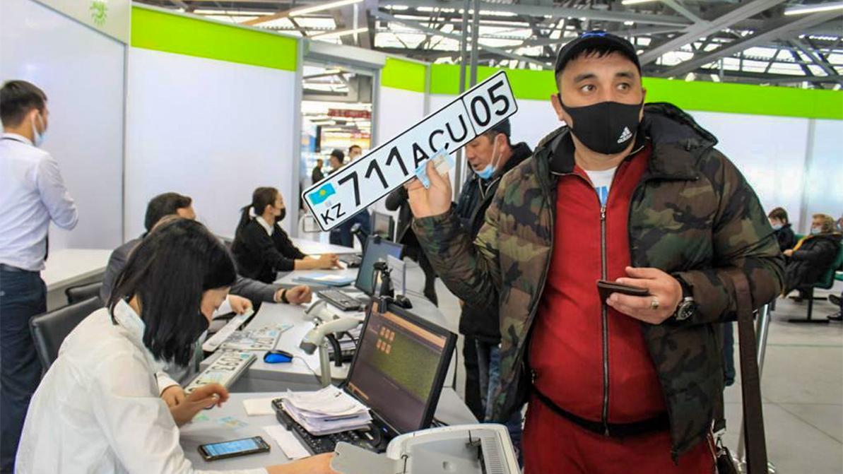 Специализированный ЦОН № 1 в микрорайоне Саялы начнёт перерегистрировать авто с 24 мая