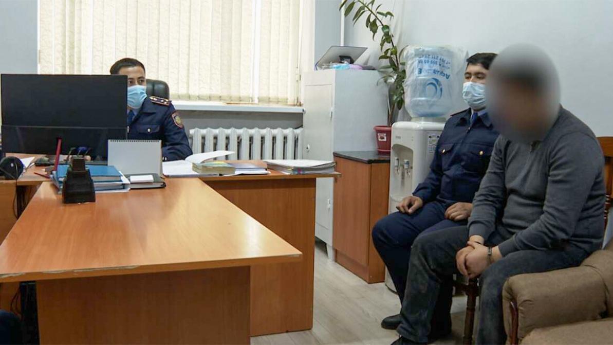 Серийных угонщиков задержали полицейские в Шымкенте