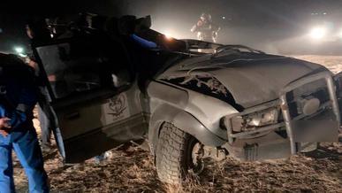 Погоня за полицейскими закончилась стрельбой и аварией