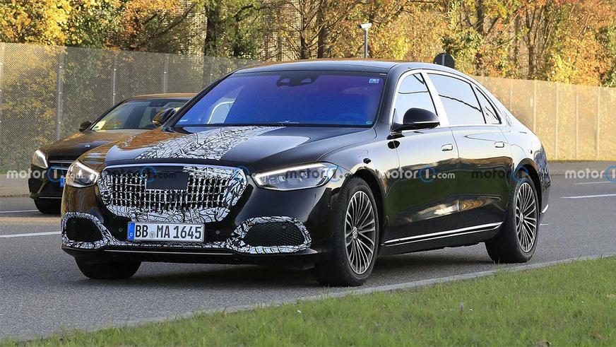 Новый Mercedes-Maybach S-Class покажут 19 ноября