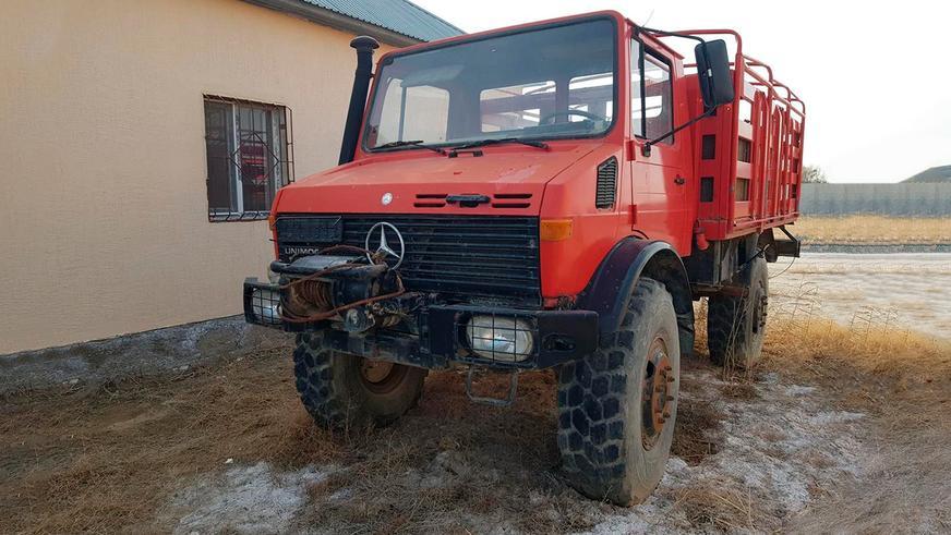 Автодом из Unimog продают на Kolesa.kz
