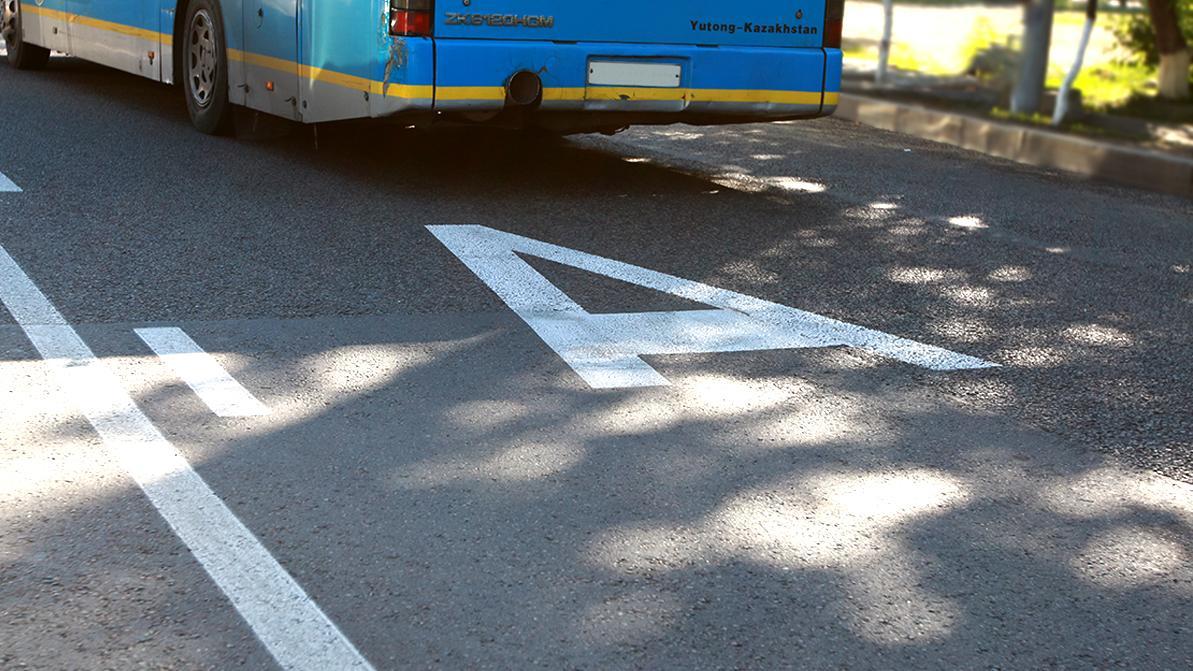 Автобусные полосы на Кульджинcком тракте и Момышулы скоро появятся в Алматы