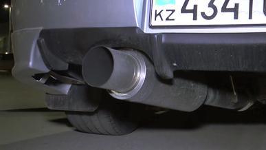 Более 40 водителей слишком громких машин оштрафовали на дорогах Алматы