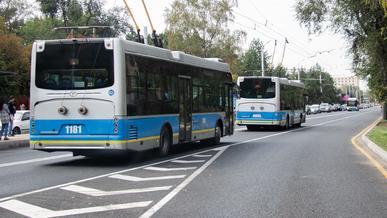 Откажется ли Алматы от троллейбусов?