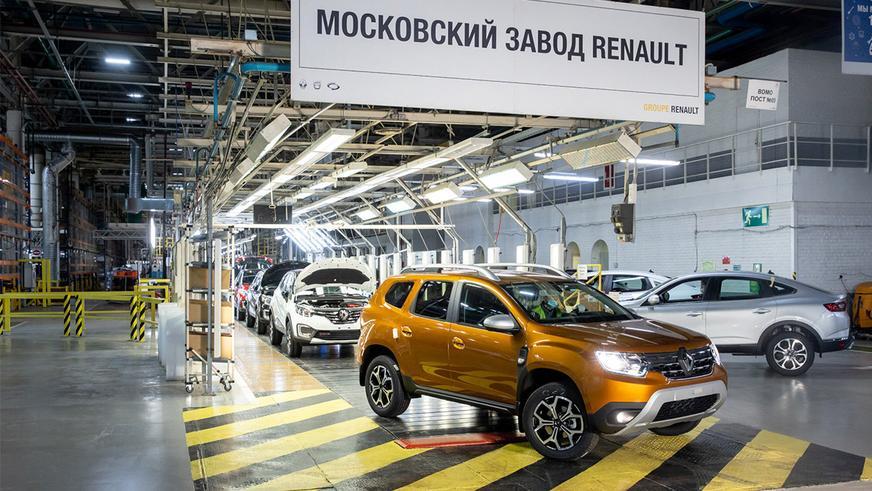 Новый Duster встал на конвейер в России