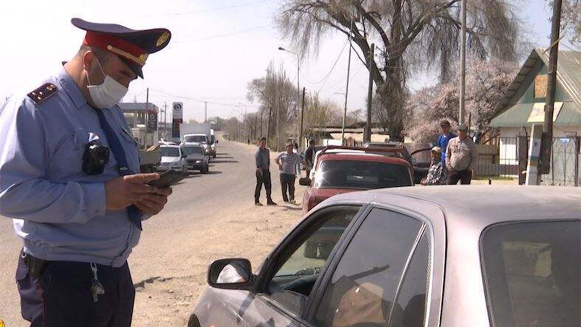 Дроны на службе полиции в Алматинской области