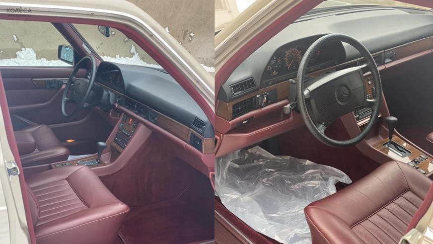 Шестиметровый 300 SEL (W126) выставили на продажу на Kolesa.kz