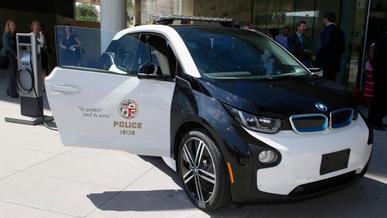 BMW i3 не прижился в полиции США