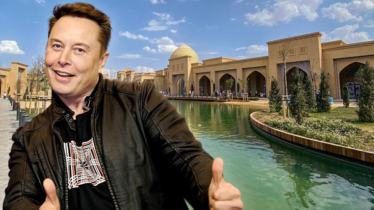 Аюпов предложил Илону Маску построить завод Tesla в Туркестане