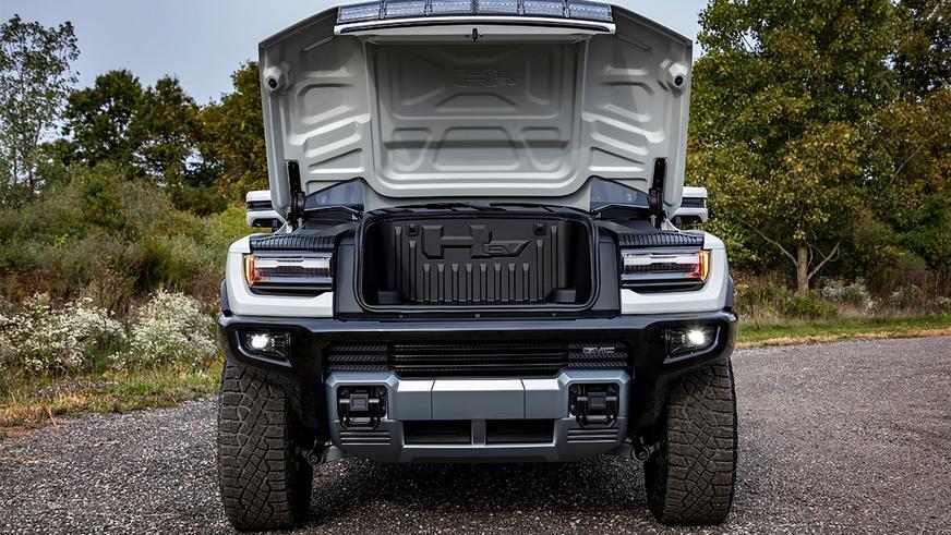 Электрический Hummer представлен официально