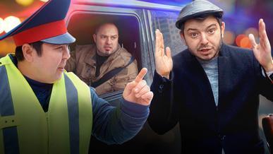 Пара уловок полицейских: мигалки и знак «Обгон запрещён». Где нарушение, а где его нет?