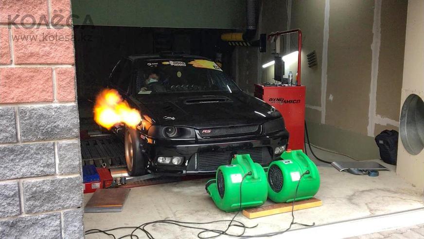 Очень быструю Subaru продают в Казахстане