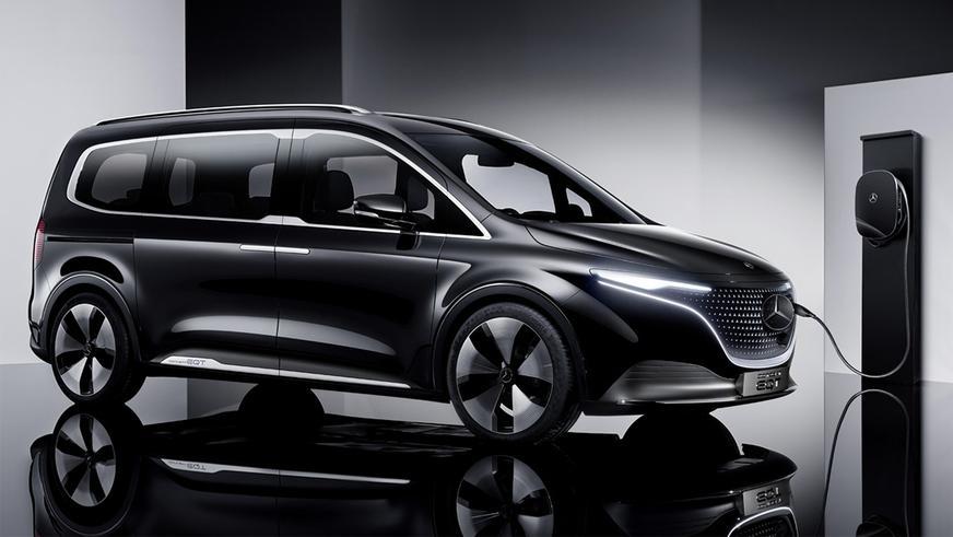 Дебютировал Mercedes-Benz EQT Concept
