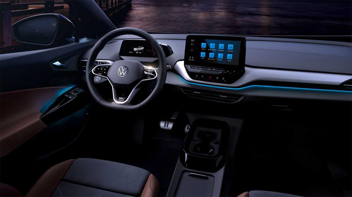 Внутри Volkswagen ID.4