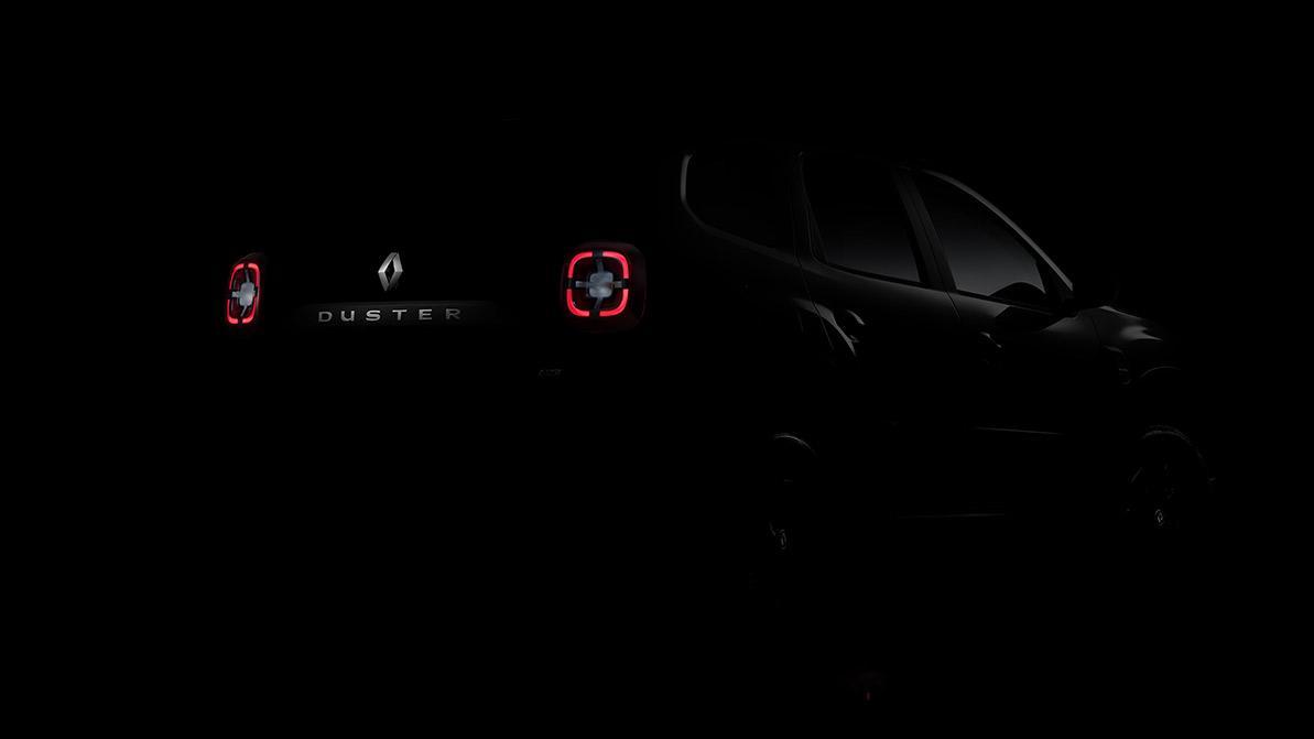 Первый тизер нового Renault Duster