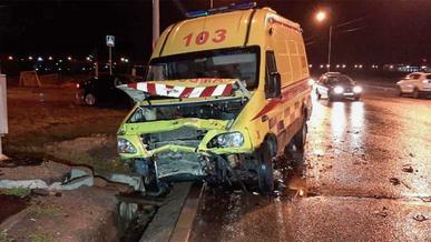 Из-за пьяного водителя в ДТП погибли медики