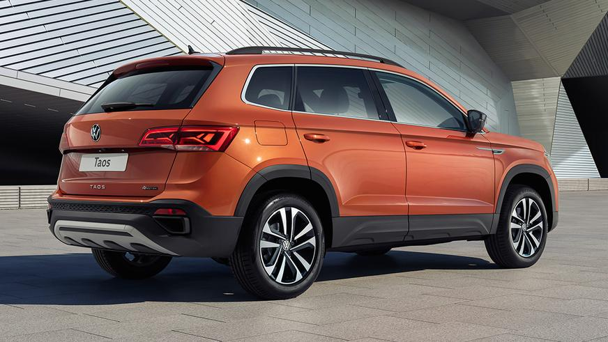 Новый кроссовер Volkswagen Taos будут продавать в Казахстане