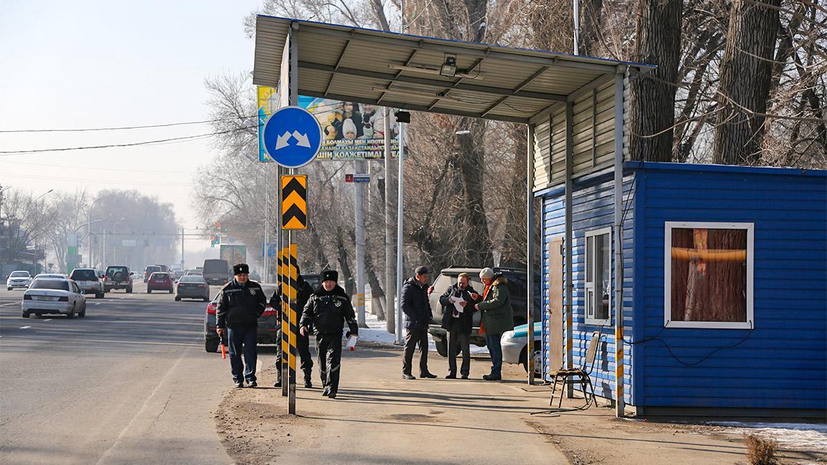 Где появятся новые экопосты на въездах в Алматы