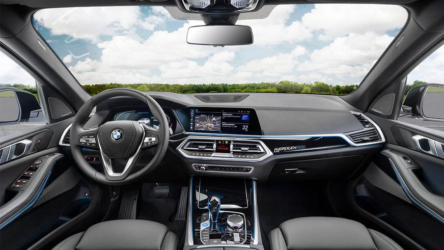 Прототип водородного X5 показала BMW