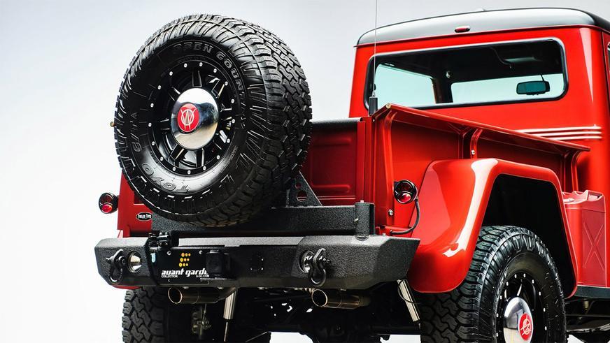 Рестомод Willys Jeep Pickup c потрохами современного Wrangler