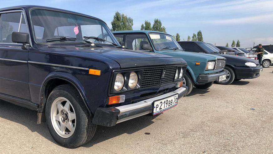 Почти половина Lada в продаже на Kolesa.kz с иностранными номерами