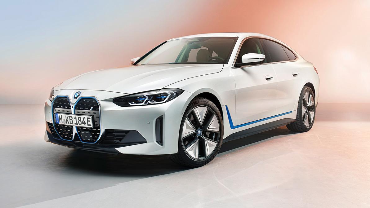 Рассекречен серийный BMW i4