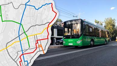 Плюс четыре линии BRT в Алматы