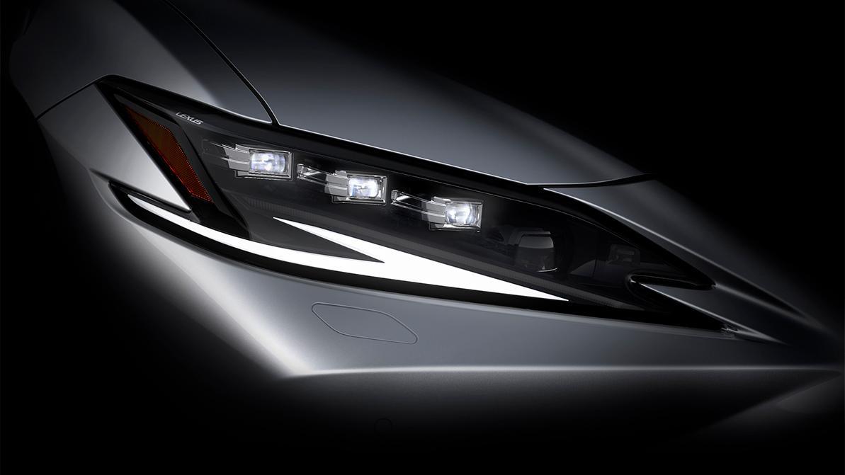 Обновлённый Lexus ES покажут 19 апреля