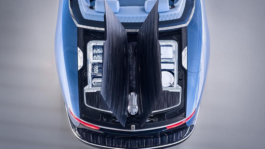 Rolls-Royce Boat Tail как самый дорогой автомобиль современности