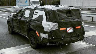 Toyota Land Cruiser 300. Первое шпионское фото