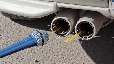 Как должен проходить замер шума глушителей?