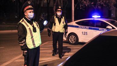 Алматинская полиция продолжает выискивать стритрейсеров